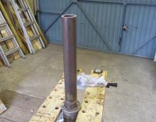 New Spindle Section Welded On
